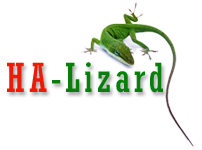 ha lizard logo original